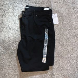 Black curvy skinny jeans from Old Navy